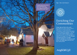 Cover of the September to November 2021 edition of the Anglican Life magazine. 'Shining the Christ Light'. Outside St Mary the Virgin Church as the parish celebrated sharing the Light of Christ in their Addington community in late June | Credit — St Mary's Addington.